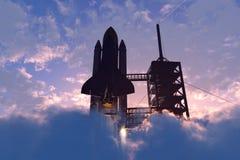 Astronautyczny transport Zdjęcia Stock