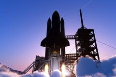 Astronautyczny transport Zdjęcie Royalty Free