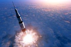 Astronautyczny transport Obraz Stock