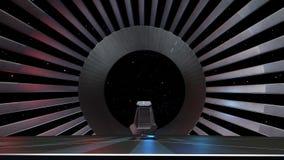 Astronautyczny tron, przygotowywający dla comp twój charaktery Fotografia Stock