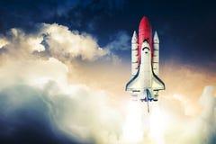 Astronautyczny wahadłowiec Obraz Royalty Free