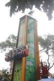 Astronautyczny wahadłowiec w SHENZHEN parku rozrywki Zdjęcia Royalty Free