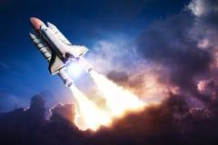 Astronautyczny wahadłowiec Obrazy Royalty Free