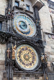 Astronimical clock in Prague, Czech Republic Royalty Free Stock Images