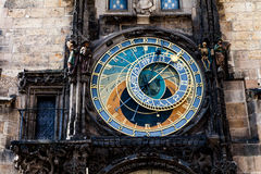 Astronimical clock in Prague, Czech Republic Royalty Free Stock Photography