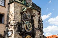 Astronimical clock in Prague, Czech Republic Royalty Free Stock Photos