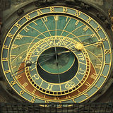 Astronimicalklok in Praag, Tsjechische Republiek Royalty-vrije Stock Afbeeldingen