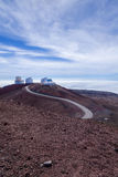 Astronmy complex on top of Mauna Kea Royalty Free Stock Image