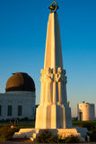 Astronomers Monument in Griffith Park Royalty Free Stock Photos