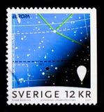 Astronomi Europa C E P T 2009 - Astronomyserie circa 2009 Arkivbilder