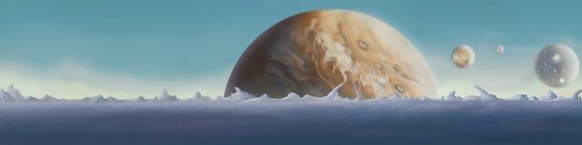 Astronomia, planety obrazy stock