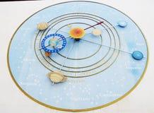 Astronomia zegar w Włochy zdjęcie royalty free