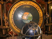 Astronomic clock. The Astronomical clock inside Notre-Dame de Strasbourg. It is the third clock on that spot and dates from the time of the first French Royalty Free Stock Images