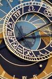 Astronomic Clock. Closeup of Astronomic Clock in Prague Royalty Free Stock Photo