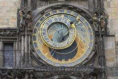 Astronomic clock in Prague. The famous astronomic clock in Prague Stock Photography