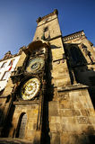 The Astronomical Clock. An Astronomical Clock from Europe Stock Images