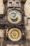 Astronomical clock Royalty Free Stock Photos