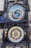 Astronomical clock Royalty Free Stock Photo