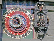 Astronomical clock in Berne Stock Photography