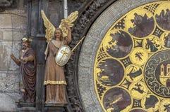 Astronomical clock calendar. Stock Photo