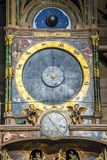 Astronomical clock in the Cathedral of Strasbourg Stock Photography