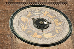 Astronomical clock Royalty Free Stock Image