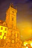 astronomical clock czech prague republic Στοκ Εικόνα