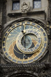 Astronomical clock, Czech republic Stock Photography