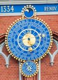 Astronomical clock Royalty Free Stock Photos