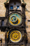 The astronomical clock 2 Stock Image