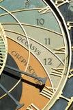 Astronomical clock Stock Image