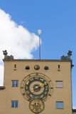 Astronomical Clock German Museum Munich royalty free stock photo
