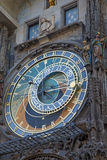 Astronomical Clock on Old Town Hall in Prague Royalty Free Stock Image