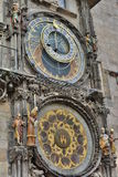 Astronomical clock. Old Town Hall. Prague. Czech Republic Stock Photography
