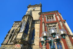 The Astronomical Clock, Old Town Hall, Prague, Czech Republic Royalty Free Stock Photo