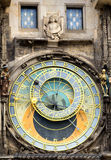 Astronomical clock at the Old Town of Prague Royalty Free Stock Image