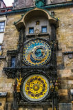 Astronomical Clock in the Old Town of Prague Royalty Free Stock Image