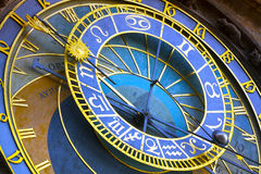 Astronomical Clock in the Old Town of Prague Stock Photos