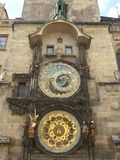 Astronomical Clock. Old Town Square Stock Photo