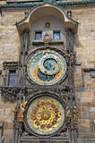 Astronomical clock at the Old Town Square Royalty Free Stock Images