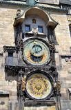 Astronomical Clock. In Old Town Square, Prague Royalty Free Stock Photography