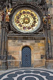 Astronomical clock at the Old Town Square in Prague Royalty Free Stock Photo
