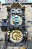 Astronomical clock on the Old Town Square in Prague Royalty Free Stock Photo
