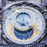 Astronomical clock. In The Old Town square, Prague. One of the most visited touristic destinations Stock Photography