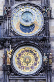 Astronomical clock. In The Old Town square, Prague. One of the most visited touristic destinations Royalty Free Stock Photo