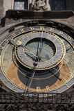 Astronomical Clock in Old Town Square; Stare Mesto Neighborhood; Royalty Free Stock Photo