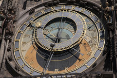 Astronomical Clock in Old Town Square; Stare Mesto Neighborhood; Stock Images