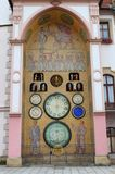 Astronomical clock of Olomouc Royalty Free Stock Photo