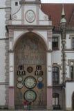 Astronomical clock in olomouc czech republic europe Stock Image