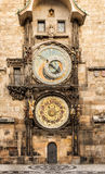 Astronomical Clock Orloj in the Old Square of Prague Royalty Free Stock Images